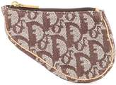 Christian Dior pre-owned Trotter Saddle mini pouch