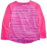 Champion Space-Dyed Raglan T-Shirt, Toddler and Little Girls (2T-6X)