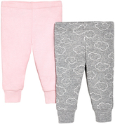 Skip Hop Pink & Gray Starry Pants Set