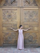 Tysa Capri Dress in Nude
