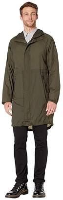 Tumi Ultralight Rain Pack (Pine) Men's Coat