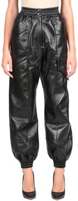 MATÉRIEL Faux Leather Cargo Pants