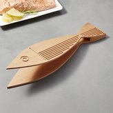 Crate & Barrel Beechwood Fish Tongs
