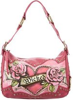 Isabella Fiore Wicked Leather Shoulder Bag