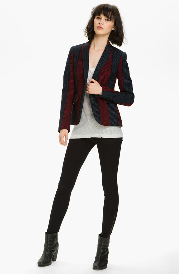 Rag and Bone rag & bone 'Bailey' Stripe Jacket