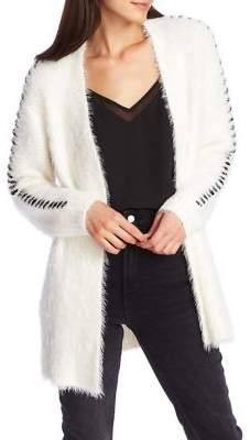 1 STATE 1.State Fuzzy Open Cardigan