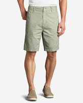 Eddie Bauer Men's Baja II Chino Shorts - Pattern