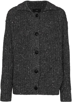 Alanui Speckled Fancy Ribbed Cardigan