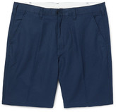 Paul Smith Slim-fit Linen And Cotton-blend Twill Shorts