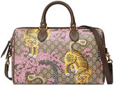 Gucci Bengal top handle bag - women - Canvas/Leather/Microfibre/metal - One Size