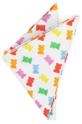 Cufflinks Inc. Gummy Bear Cotton Pocket Square