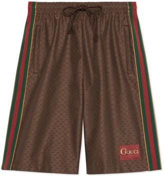Gucci Mini GG shorts with label