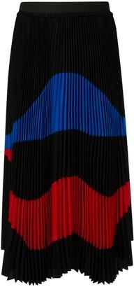 N°21 N.21 Pleated Printed Skirt