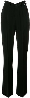 Balenciaga high waisted straight leg cotton trousers