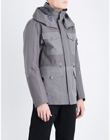 Stone Island Tank Sheild Ghost Quilted Parka Coat
