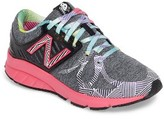 New Balance Girl's 200 Electric Rainbow Athletic Shoe