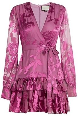 Alexis Emma Wrap Flounce Dress