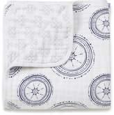 Aden Anais aden + anais Muslin Dream Blanket, Ahoy Baby Nautical Anchors Limited Edition Anchors