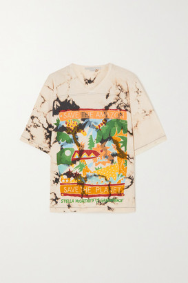 Stella McCartney - Greenpeace Printed Tie-dyed Organic Cotton-jersey T-shirt - Multi