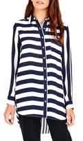 Wallis Women's Mix & Match Stripe Shirt