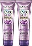 L'Oreal Ever Pure Volume Conditioner Lotus, 8.5 Fl Oz (Pack of 2)
