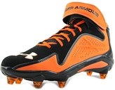 Under Armour Micro G Renegade D Men US 10 Orange Cleats