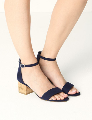Marks and Spencer Wide Fit Block Heel Sandals