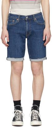 Levi's Levis Indigo 511 Slim Cut-Off Shorts