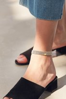Urban Outfitters Rhinestone Anklet