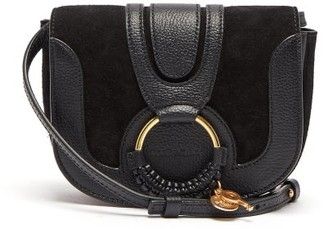 See by Chloe Hana Mini Leather And Suede Cross-body Bag - Black