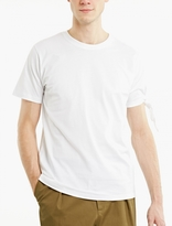 J.w. Anderson White Knot-sleeve T-shirt