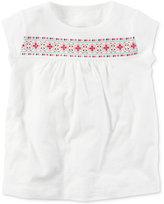 Carter's Puff Floral Cotton T-Shirt, Toddler Girls (2T-4T)