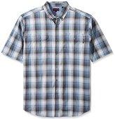Wolverine Men's big-tall Ausbin Plaid Cotton Madras Big & Tall Shirt