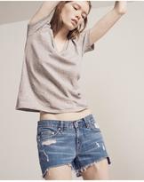 Rag & Bone Cut off jean short