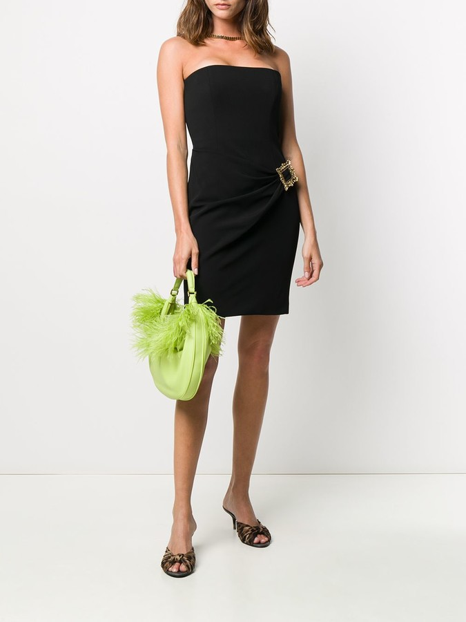 Thumbnail for your product : Moschino Frame-detail mini dress