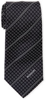 Missoni Black Silk Tie