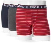 Izod Men's 3-pack Boxer Brief Gift Box