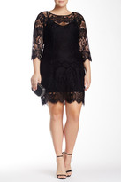 BB Dakota Candy Lace Dress (Plus Size)