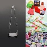 Buckdirect Worldwide Ltd. Lipstick Cookie Cutter 3D DIY Biscuit Cake Mold