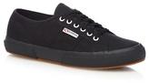 Superga Black 'cotu Classic' Lace Up Shoes