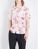 Gucci Donald Duck Regular-fit Woven Shirt