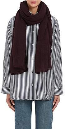 Barneys New York Women's Oversized Cashmere-Silk Scarf - Wine