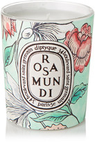 Diptyque Rosa Mundi Scented Candle, 190g - Mint
