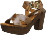 Sbicca Blackwell Women US 7 Tan Platform Sandal