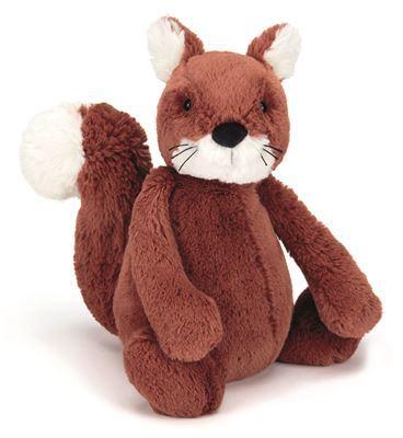 Jellycat Medium Bashful Squirrel (31cm)