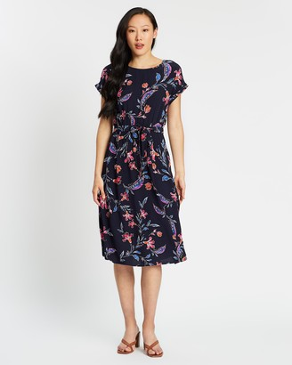 Sportscraft Silvia Floral Dress