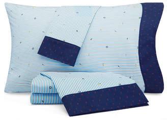 Nautica Stripes at Sea Full Sheet Set Bedding
