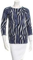 Bouchra Jarrar Patterned Sweater