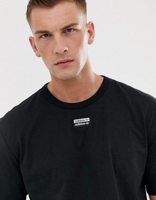 adidas RYV t-shirt with central logo in black