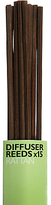 John Lewis The Basics Diffuser Reeds, Pack of 15, Small